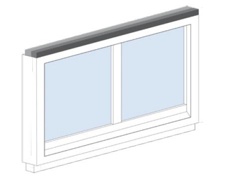 Aufkleben-Oberseite-Rahmen