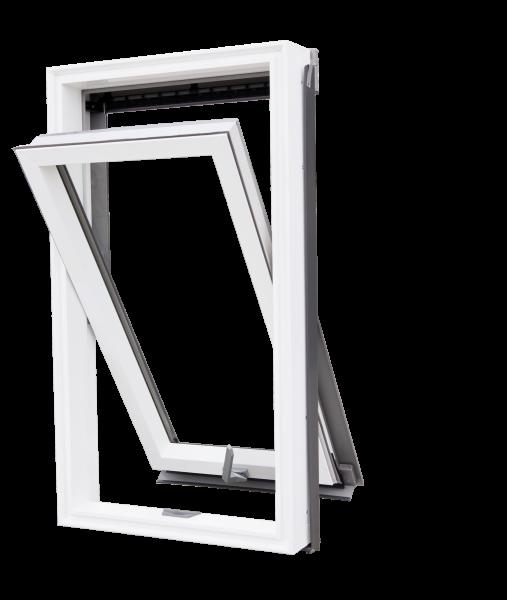 """Kunststoff-Dachfenster """"ROOF select"""" mit Schwingfunktion incl. Eindeckrahmen, weiß"""