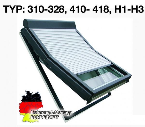 Roto-Dachfenster Rollladen Typ 310-328, 410- 418 und H1-H3