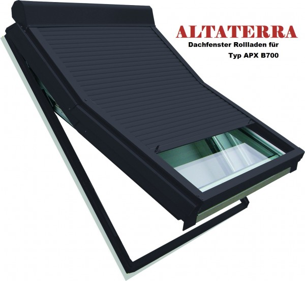 Außenrollladen für ALTATERRA Dachfenster vom Typ APX B700