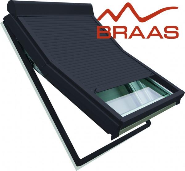 Dachfenster Rollladen für Braas vom Typ BA, BA-O, BK, BL, BSK nachrüsten