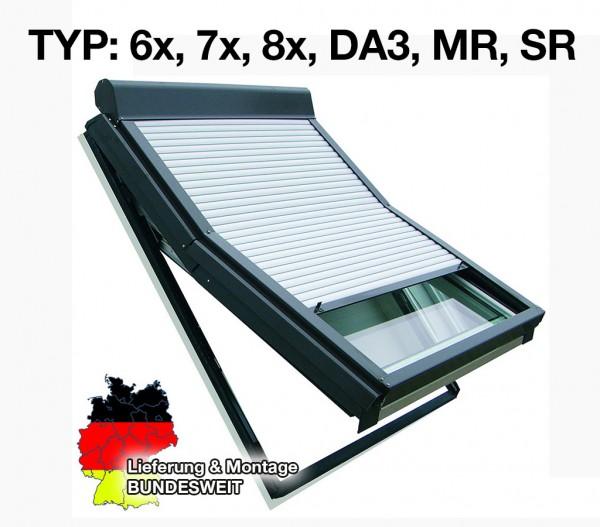 Roto-Dachfenster Rollladen Typ 6, 7, 8,MR, SR, DA3