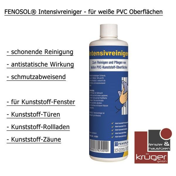 FENOSOL® Intensivreiniger - für weiße Kunststoffoberflächen