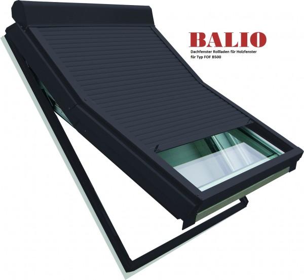 Außenrollladen für Balio Holzdachfenster vom Typ FOF B500
