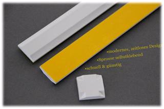Fenstersprossen Kunststoff weiß, Deko Sprossen Onlineshop nachrüsten